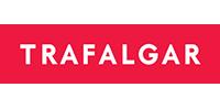 Logo of partnered tour company Trafalgar