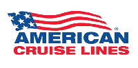 Logo of U.S. historic waterways cruise line American