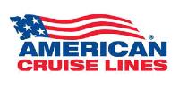 Logo of U.S. historic waterways cruise line American