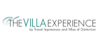 Logo of premier villa rental company The Villa Experience