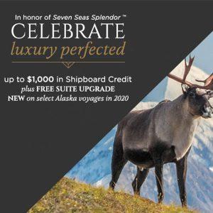 Travel Rewards promo Luxury Perfected Regent Seven Seas cruises.