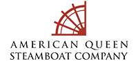 Logo of cruise line American Queen Steamboat Company