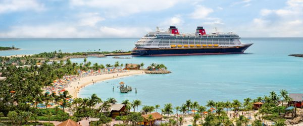 Photo of Disney Cruise Lines Bahamas port Castaway Cay
