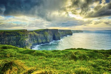 Photo of the Cliffs of Moher located Ireland
