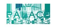 Logo of award winning Palace Resorts