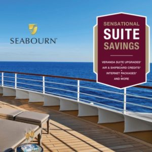 Seabourn sensational savings exclusive offer.
